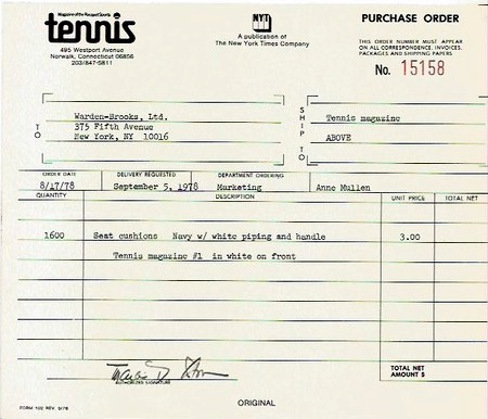 1978 US OPEN… the backstory!
